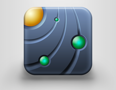 iOS icon for Orbit Lab application
