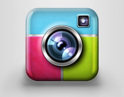 iOS icon for camera based application