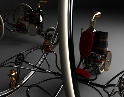 Steam Engine Bike