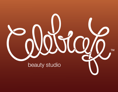 Logo for Celebrate beauty studio