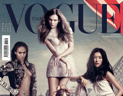 VOGUE ITALIA: Supermodels