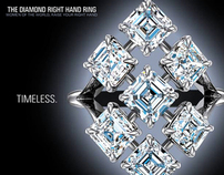 DE BEERS - Diamond Right Hand Ring