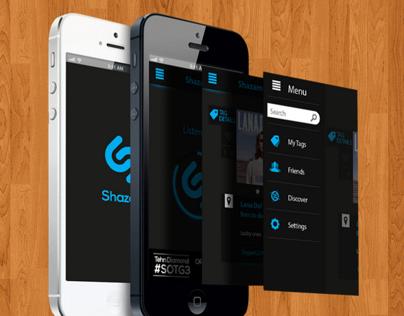 Shazam UI