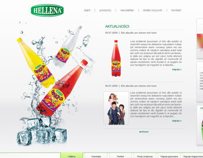 Hellena drinks website