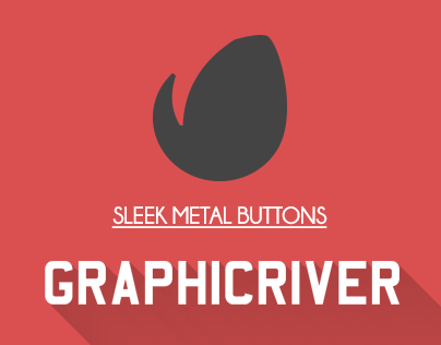 Sleek Metal Buttons