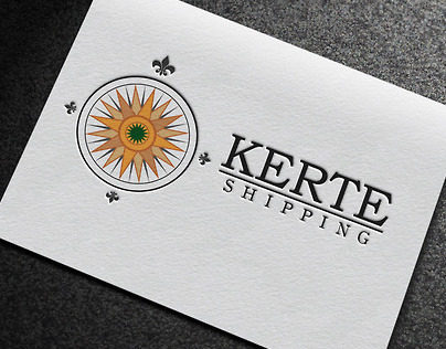 Kerte Shipping Logo Design