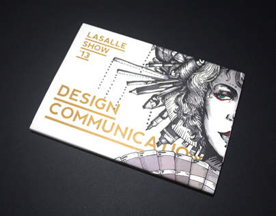 The LASALLE Show 13, Design Communication Booklet