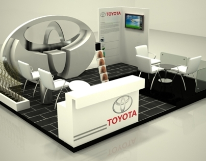 Toyota Booth Employment Fair