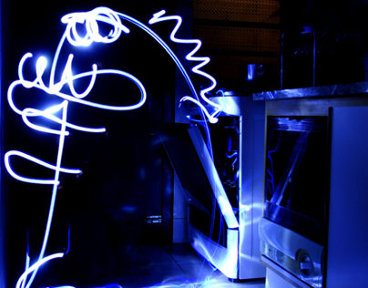 Monster Light Paint