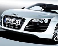 Audi R8 Vectorial Hiperrealism