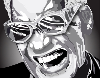 Ray Charles - Illustration