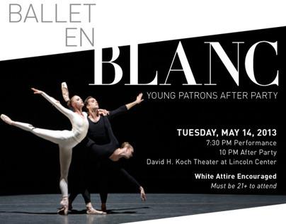 Ballet en Blanc