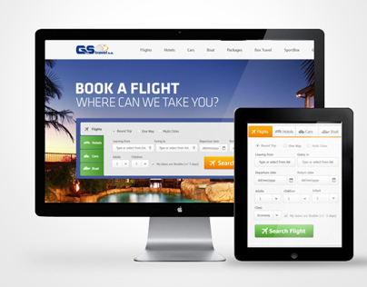 GS Travel UI/UX Design Concept
