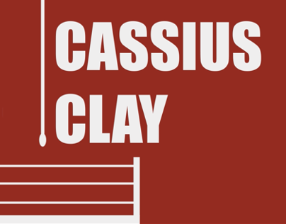 Cassius Clay (Kinetic Typography)