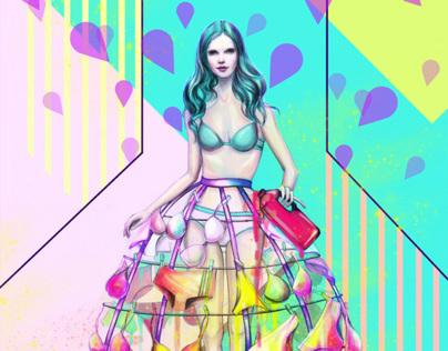Bjorn Borg fashion illustration + video
