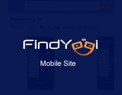 Findyogi Mobile Site
