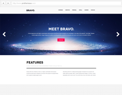 Bravo | WordPress Theme