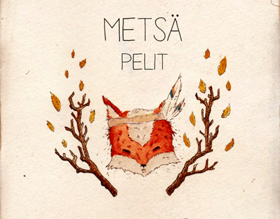 Metsä Pelit - CD album cover