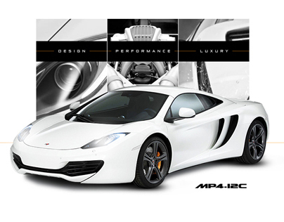 McLaren Automotive Website Pitch
