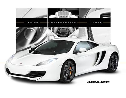 McLaren Automotive Website Pitch