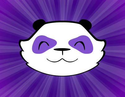 Purple Party Panda