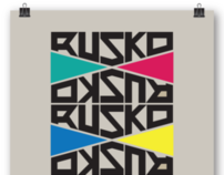 Contest Talenthouse -Design Ruskos official - R - logo