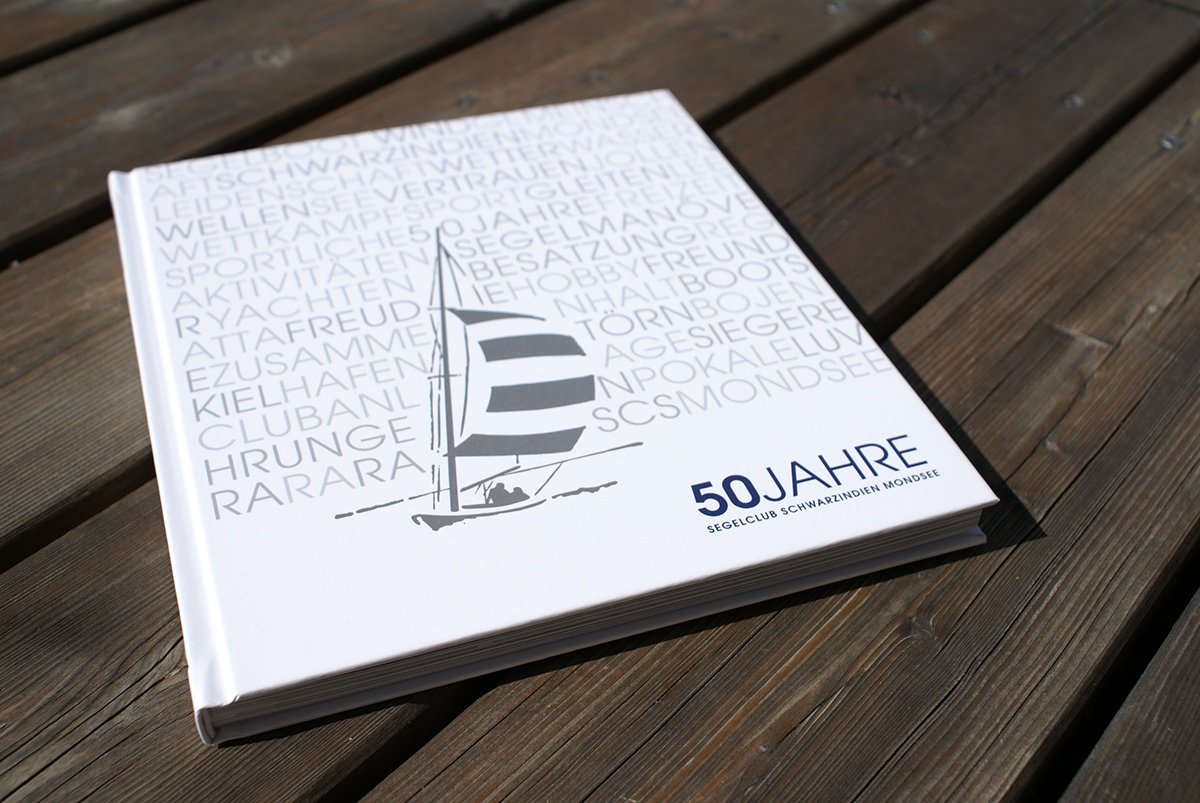 Sailing Club Mondsee Book Design 2012