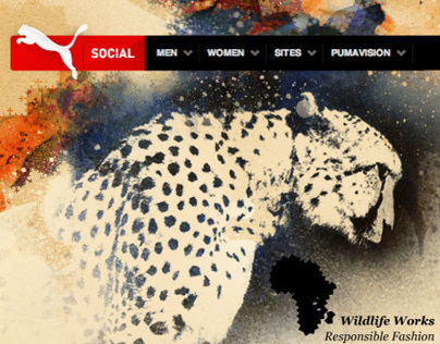 Puma Creative Factory // PUMA Social Club Website