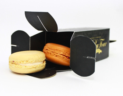 Macarons packaging design