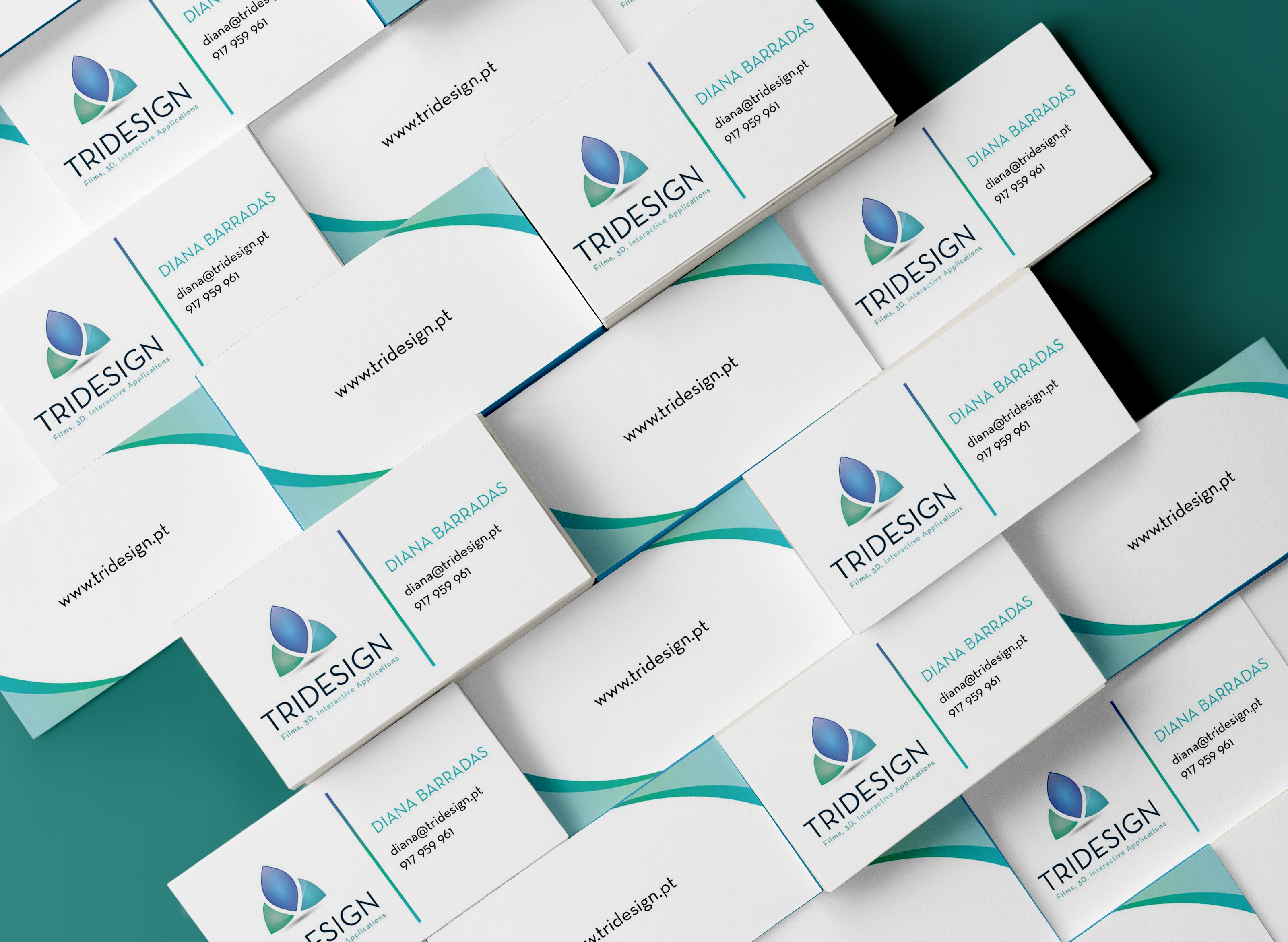 | Business Card + Newsletter TRIDESIGN