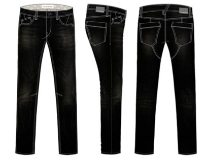 Men's Denim Pants Designs