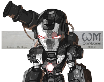 War Machine - Iron Man