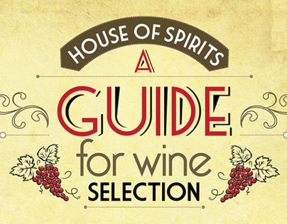 A Guide for Wine Selection (House of Spirits)