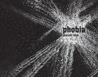Crazy typography (about phobia)