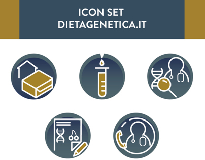 ICON SET dietagentica.it