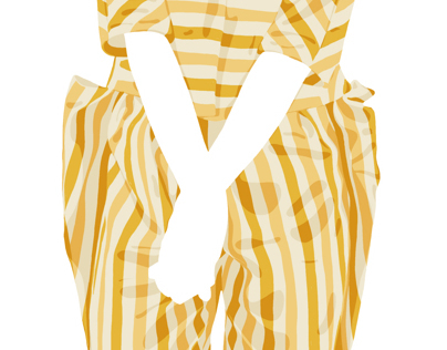 The yellow stripes combo