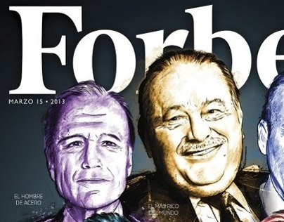 Cover Magazine for Forbes Mexico