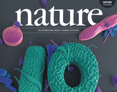 Nature science journal cover