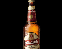 """Aldaris"" beer"