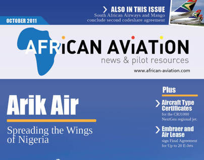 African Aviation - Magazine Design