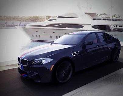 BMW M5 3D Alias Modeling