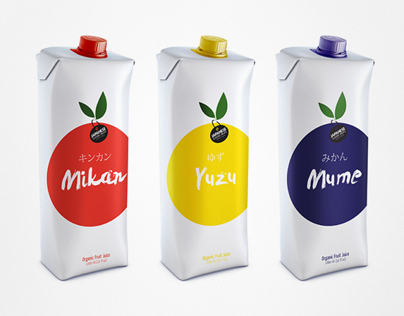 Juice of Classic Japanese Fruits (concept)