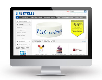 LifeCycle Books website