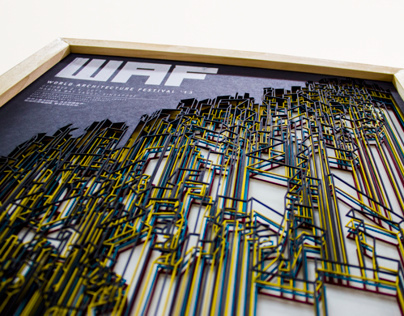 World Architecture Festival 13 // 3D Poster
