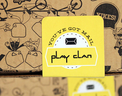 Play Clan Online Packaging