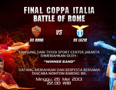 Final Coppa Italia Roma Vs Lazio