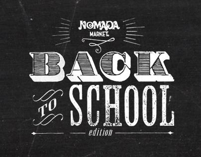 Nómada Market. Back to School Edition.