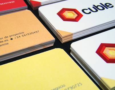 Business cards Cuble