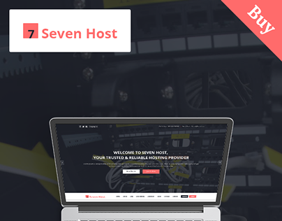 Seven Host - Hosting PSD Template