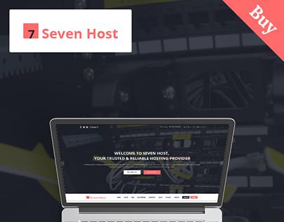 Seven Host - Hosting PSD Template